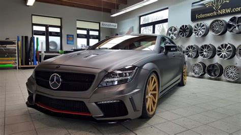 Prior Design-tuned Mercedes-Benz CLS Given Matte Charcoal