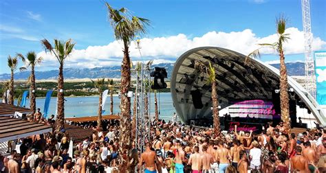 Island of Pag: Nightlife and entertainment in Novalja Zrce