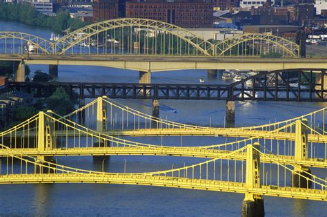 All About Pittsburgh's Three Sisters Bridges