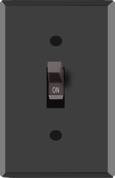 Light Switch On 2 Clip Art at Clker