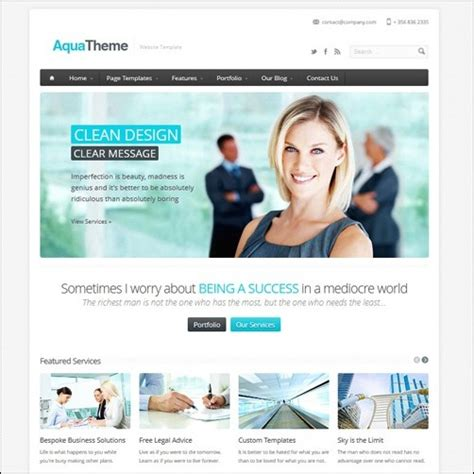 40+ High Quality Business Website Templates | Tripwire