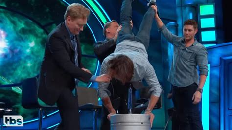 Jared Padalecki Does a Birthday Keg Stand After His