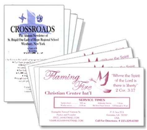 Church Business Cards | Pastor & Clergy Cards | mmprint