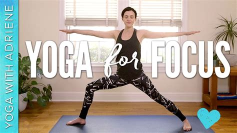 Yoga for Focus and Productivity | Yoga With Adriene