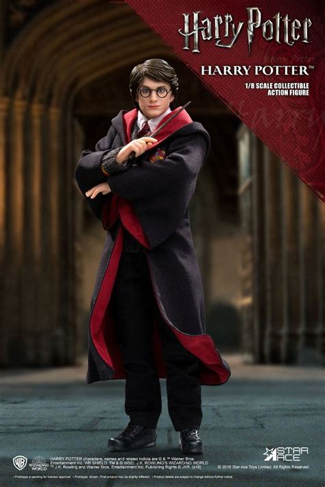 Harry Potter Real Master Series Action Figure 1/8 Harry