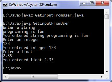 How to take input from a user in Java | Programming Simplified