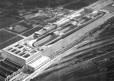 The old Fiat factory in Turin has a very cool test track