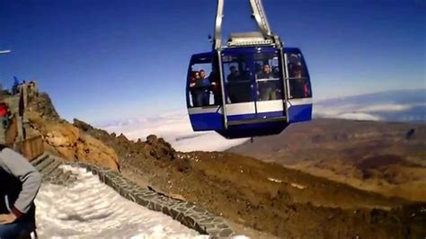 View from Pico Del Teide, Tenerife - YouTube