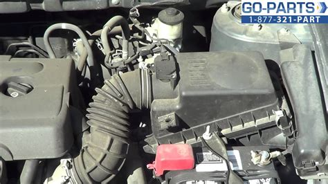 Replace 2003-2008 Toyota Corolla Air Filter, How to Change