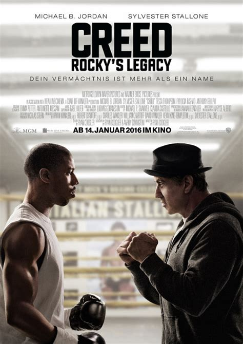 Filmplakat: Creed - Rocky's Legacy (2015) - Filmposter-Archiv