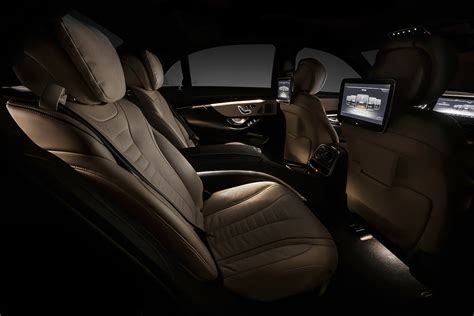 2014 Mercedes S-Class Official Interior Photos Released