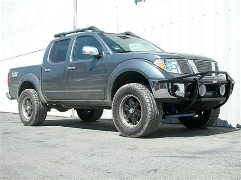 New suspension lift kit for 2005 -2006 Frontier - Nissan