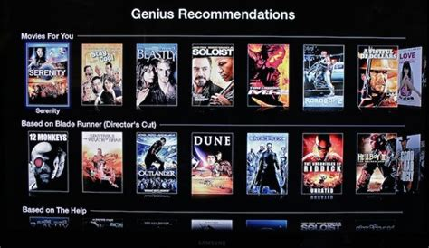 Apple Brings Genius Recommendations For Movies And TV