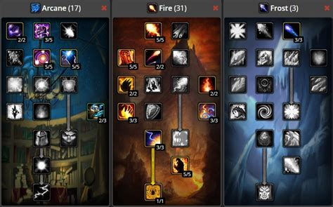 World of Warcraft Classic Fire Mage Build | Best Fire Mage